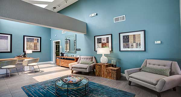 Waterstone Alta Loma Apartments office lobby
