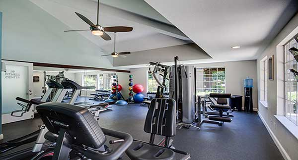Waterstone Alta Loma Apartments Community gym