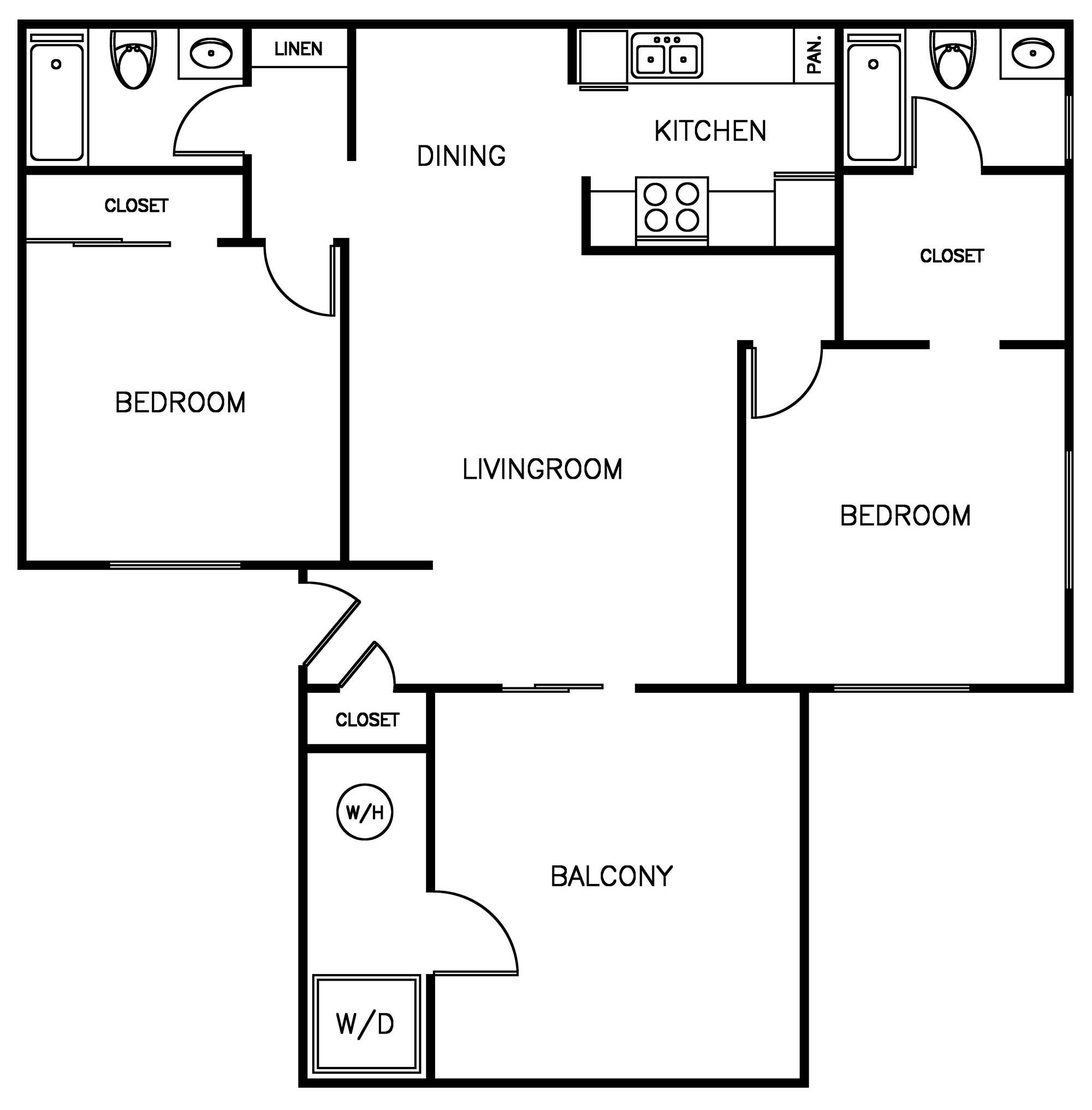 Photo Gallery & Floor Plans Waterstone Alta Loma Apartments