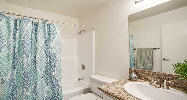 Waterstone Alta Loma Apartment 2nd bathroom